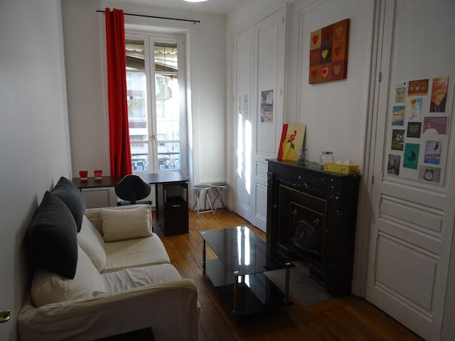 Bright apartment near the Parc de la Tête d'Or - Lyon - Wohnung