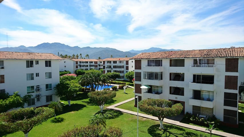 A/A Big Pool, King Size Bed - Puerto Vallarta - Daire