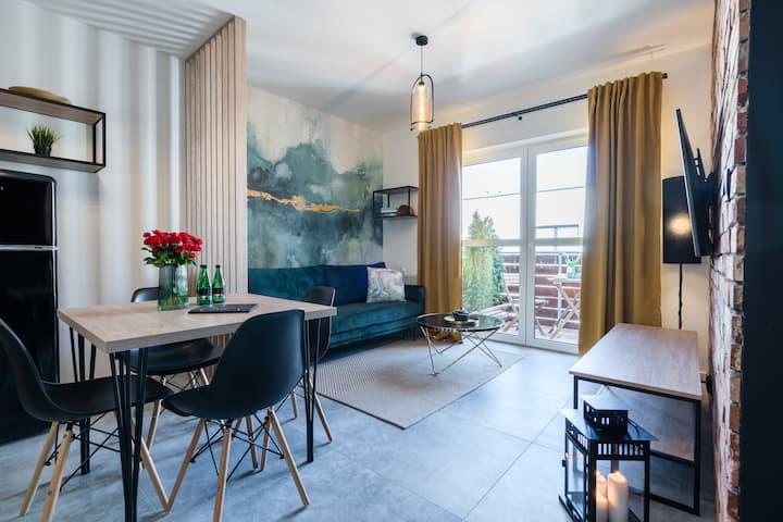 1555 Apartment II z miejscem parkingowym