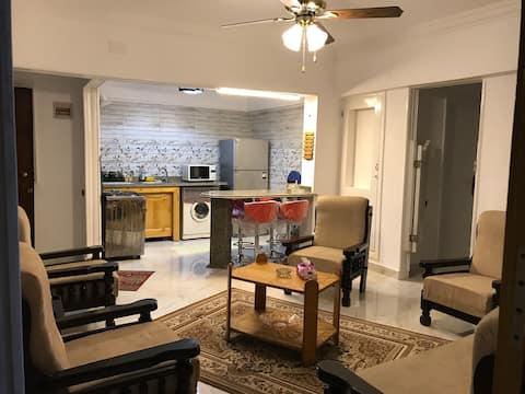 Appartement élégant à Maamoura plage
