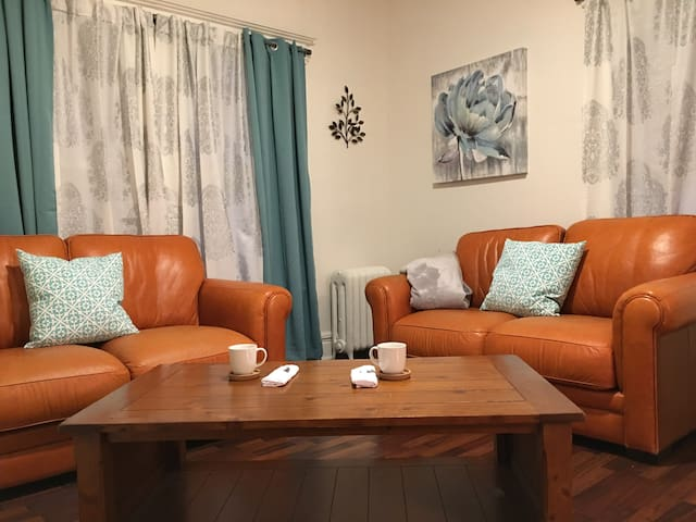 New! Suburban retreat with easy city commute
