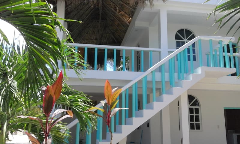 Casa Azul-Hotelito Holbox 2nd room - Holbox - Apartment