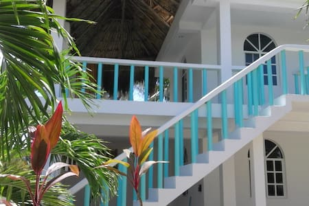 Casa Azul-Hotelito Holbox 2nd room - Holbox - Appartement