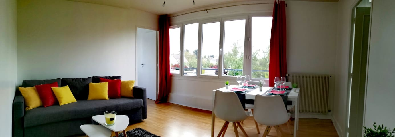 Grand appartement proche gare RER-C Paris à 30min