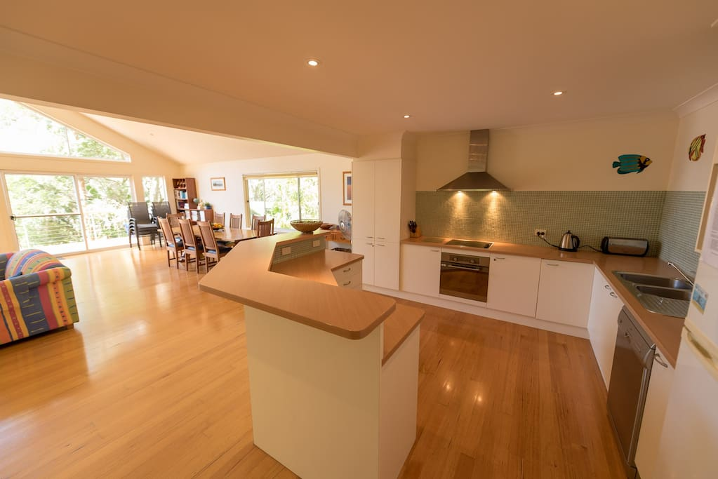 Cook up a feast or a simple holiday meal in our well equipped kitchen