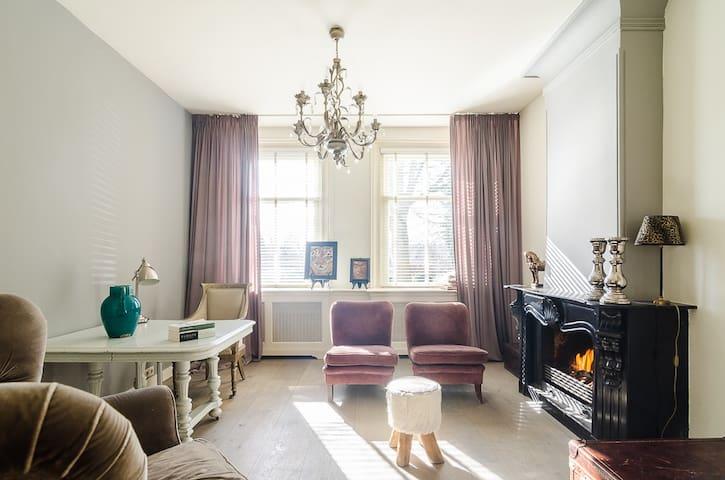 Elegant riverside house nearby Amsterdam - Vreeland - House