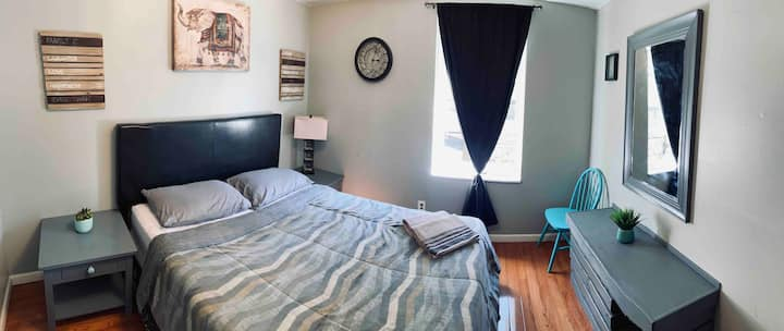 Cozy private apartment at center city  (4 guests)