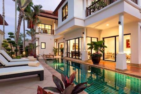 Oban Villa, Luxury 4 bedrooms - Choeng Thale - Vila