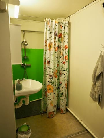 Bathroom with shower , separate wc