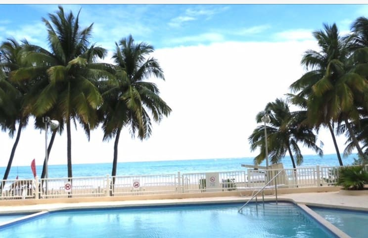 NEW Beach Apartment Pool Parking WIFI Sleep 4