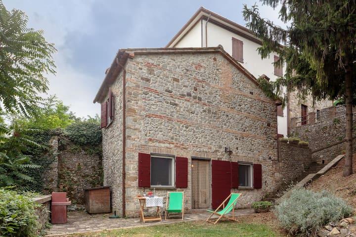 Soggiorno in antico borgo  - Verucchio - Ház