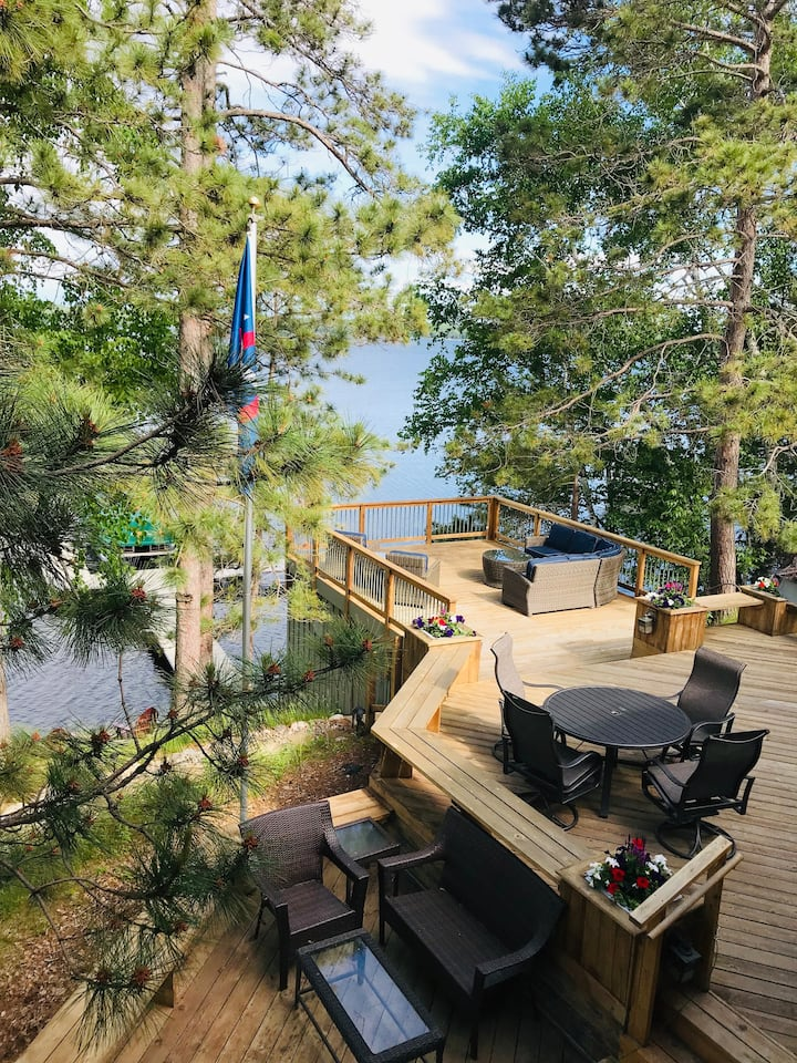 Secluded Retreat Next to Madden's on Gull Lake, MN