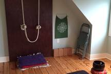 yoga and meditation room adjoining