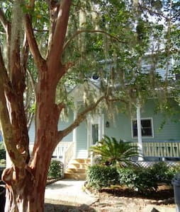 Downtown St. Marys Coastal Townhome - Saint Marys