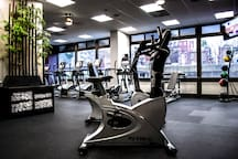 Community features 24 hour Fitness Center and Yoga Studio.