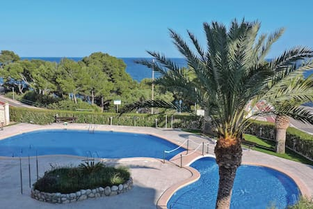 Holiday apartment with 2 bedrooms on 50m² in Miami Platja