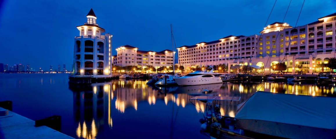 Penang Marineland Suites 2 槟城海湾民宿2 - Tanjung Tokong - Service appartement