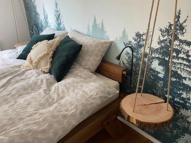 Schlafzimmer - Kingsize Bett
