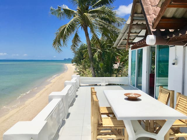 New Beachfront Apartment 2BR - opened in 2017! - Ko Pha-ngan - Appartement