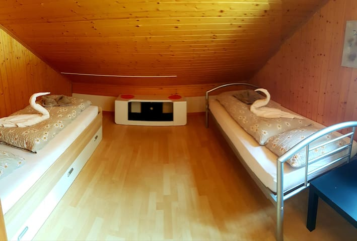 Private twin room Grindelwald