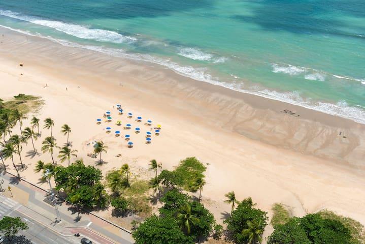 RAD2704 Wonderful oceanfront flat in Boa Viagem – Radisson Hotel