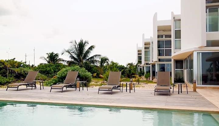 """Villas de Playa """"Las Velas"""" San Bruno, Yucatán."""