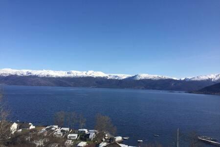 Panorama in the Hardangerfjord!! - Kvam - 公寓