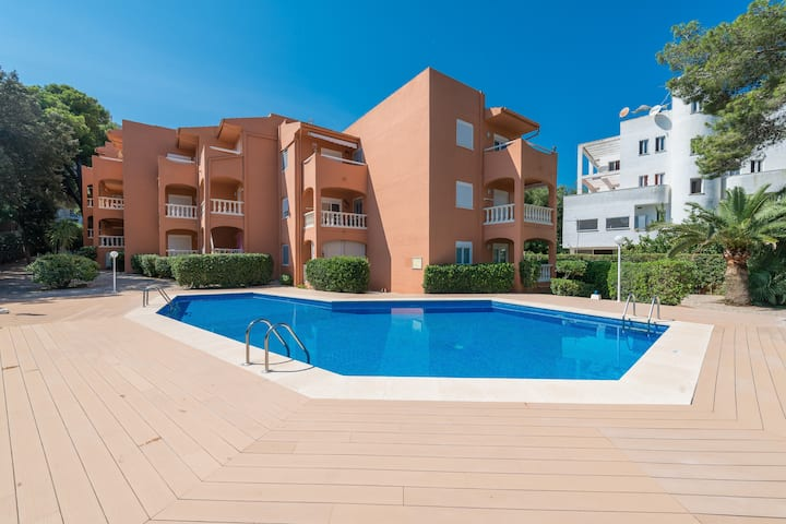 CANYAMEL BEACH & SUN - Cosy apartment with shared pool and close to the beach. Ideal for couples. Free WiFi