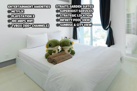 ★Couples Getaway XVII★Cozy Suite Sleeps 1~4 | 城市套房