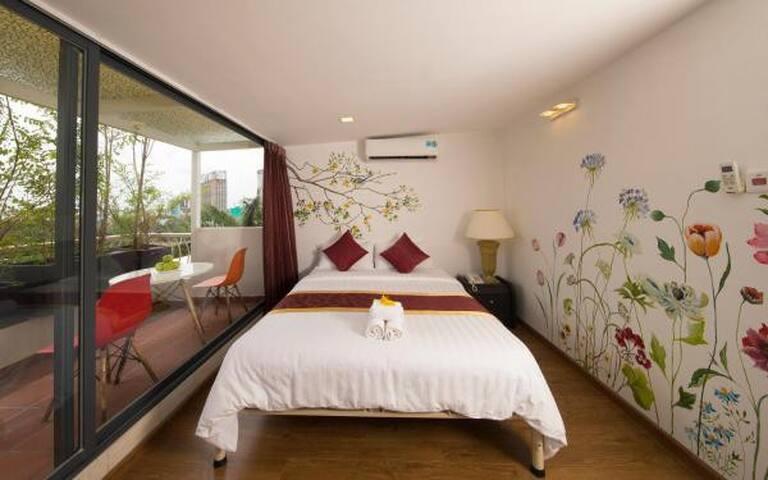 GoldenA ★ 501 cozy and quiet room in District 7