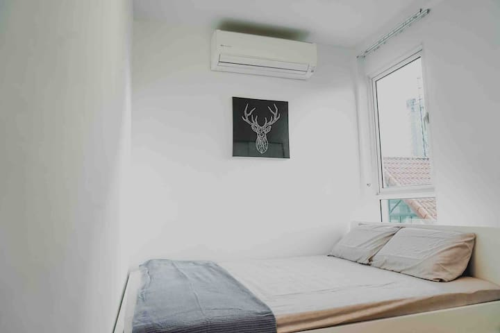 Bright and Modern Furnished Deluxe Bedroom