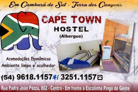 Cape Town Hostel - Cambará do Sul