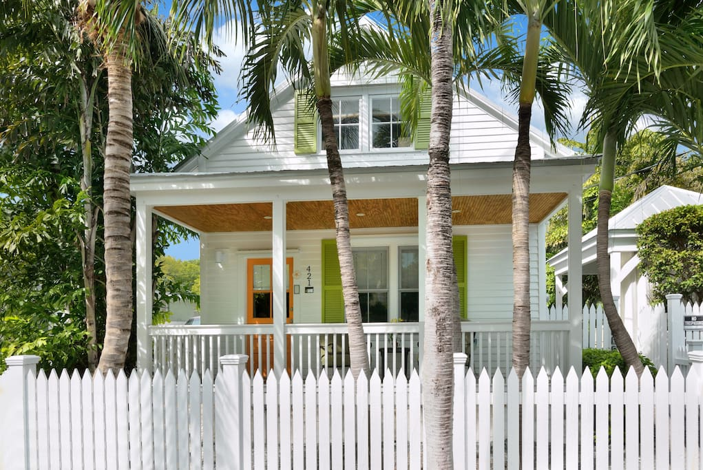 Historic Key West Vacation Rentals,     Chick-A-Pea's Cottage,    Amazing downtown location with parking and pool
