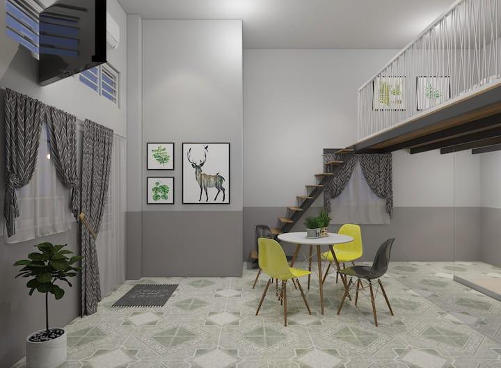 Le Conte Danang Homestay Mezzanine 1