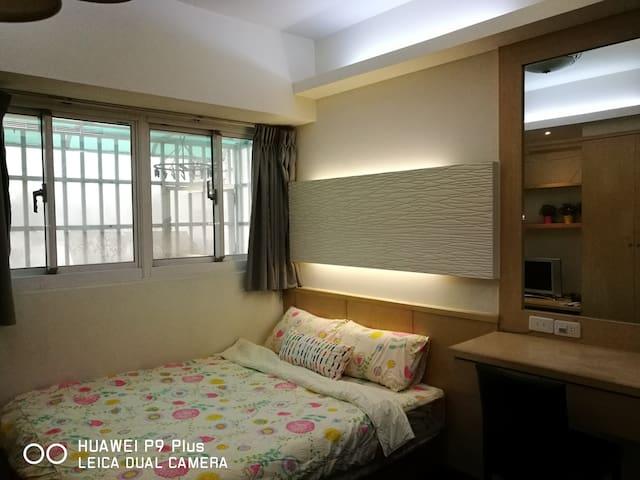 桃園市/桃園火車站/機場/夜市/百貨公司/3C大賣場/客運總站/龜山華亞科學園區 - Taoyuan District - Appartement