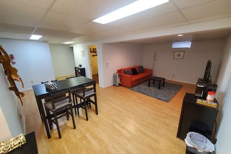 Entire Basement Suite with Private Entrance