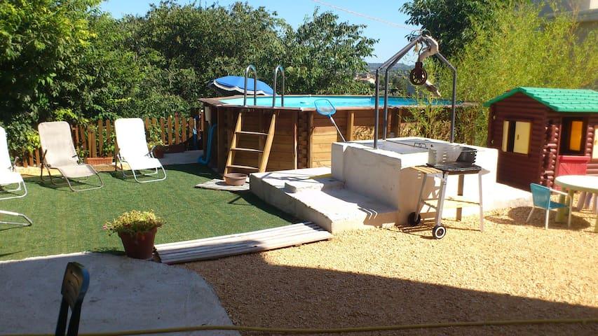 maison individuelle jardin clos - Alès - Ev