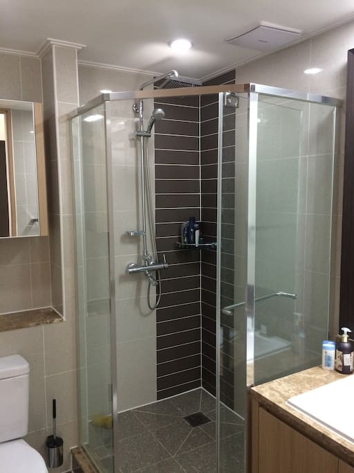 1st bathroom with shower