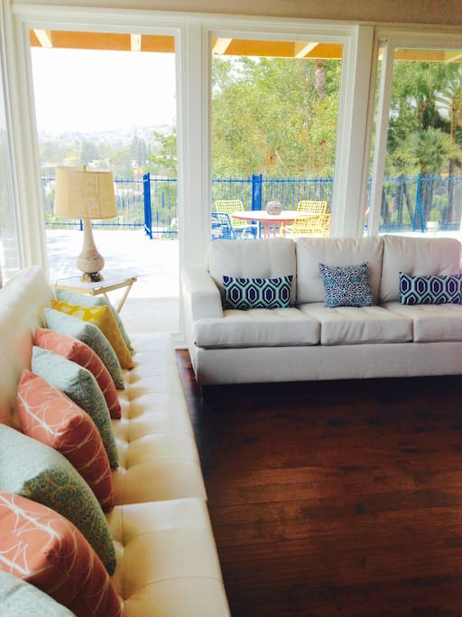Beautiful living room couches convert to sofa beds