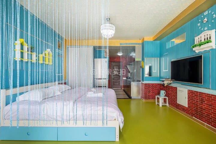 威海亲子游家庭游民宿公寓