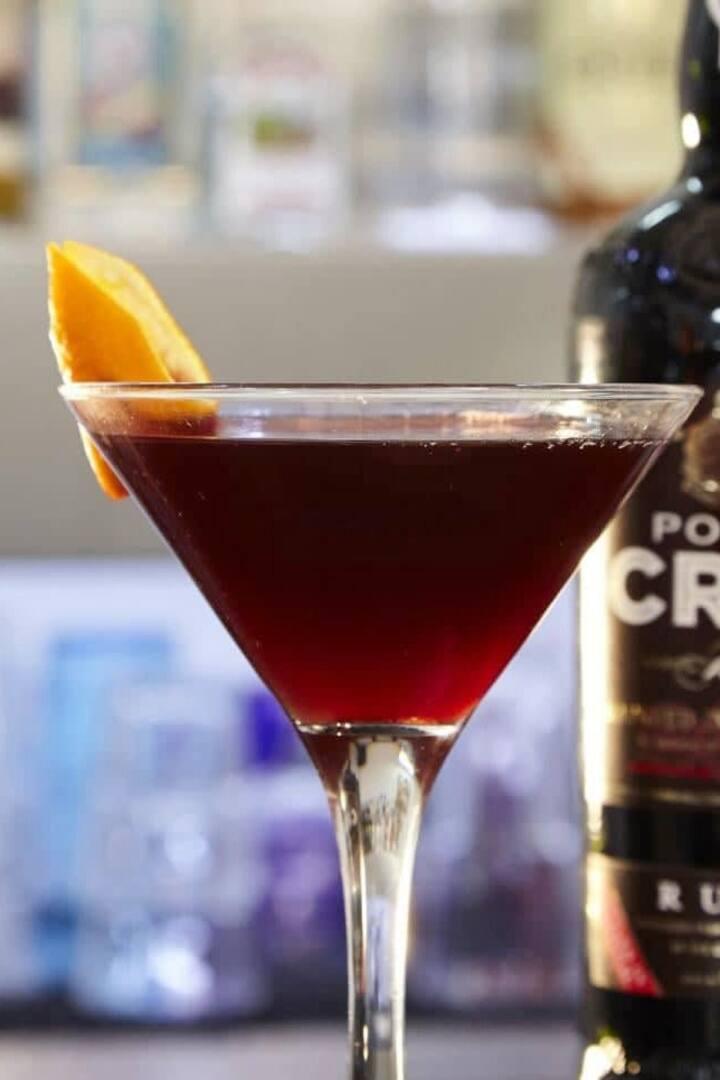 Cocktail com Vinho do Porto