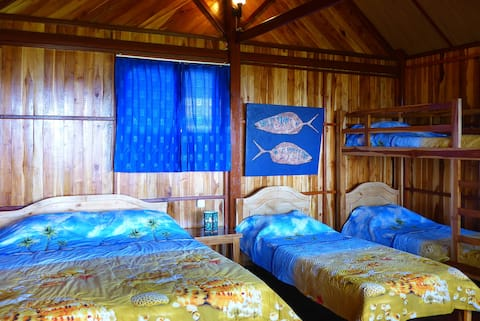 Large Seaview Bungalow AC, TV, Minibar, Hot Shower