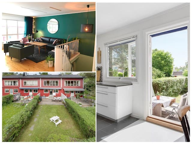 Large house, close to Oslo and family friendly