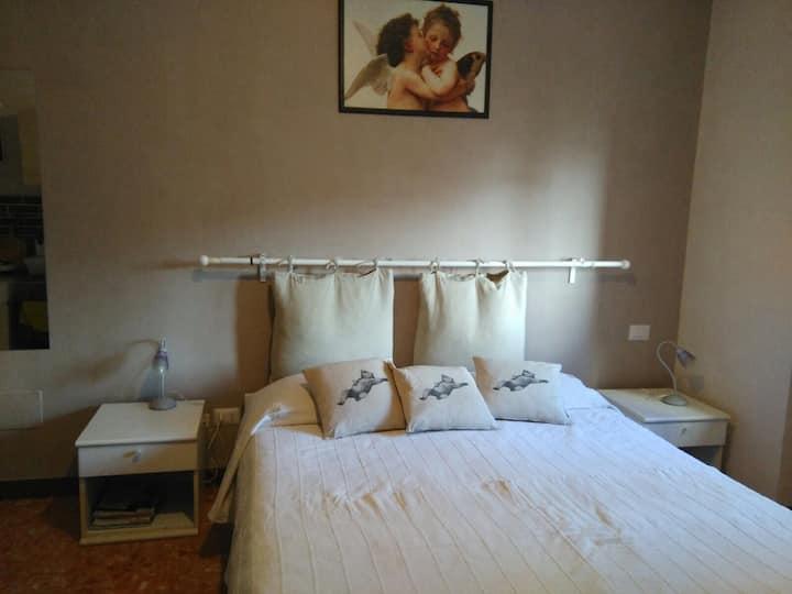 Studio indipendente con bagno privato a Roma!