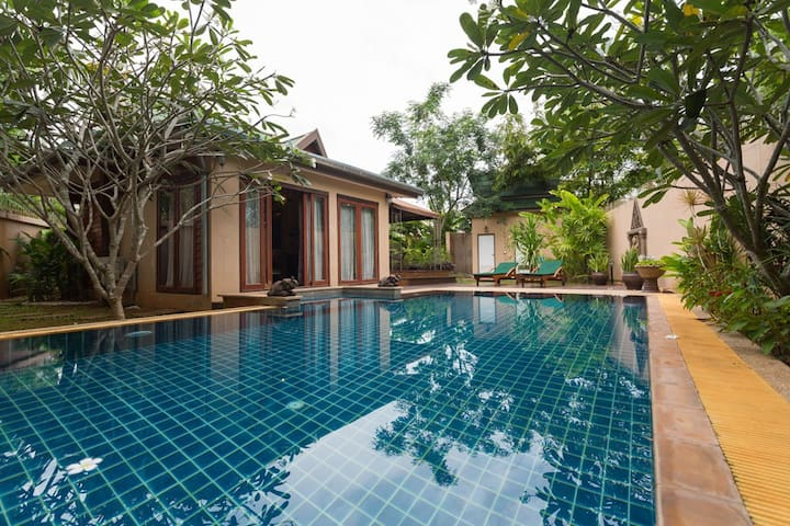 Baan Manu Chang Private Pool House - Mueang Krabi - Huis
