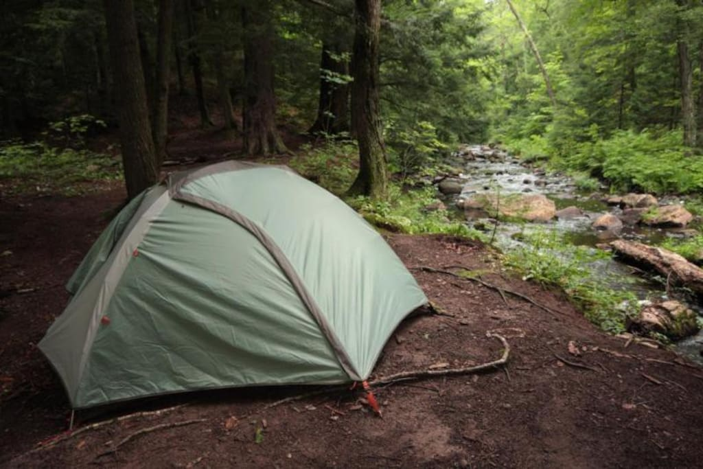 This is the REI tent included with your kit!  We selected it for ease of setup and it's durability.