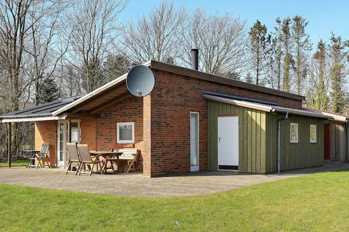Maison de vacances vintage à Struer près des champs