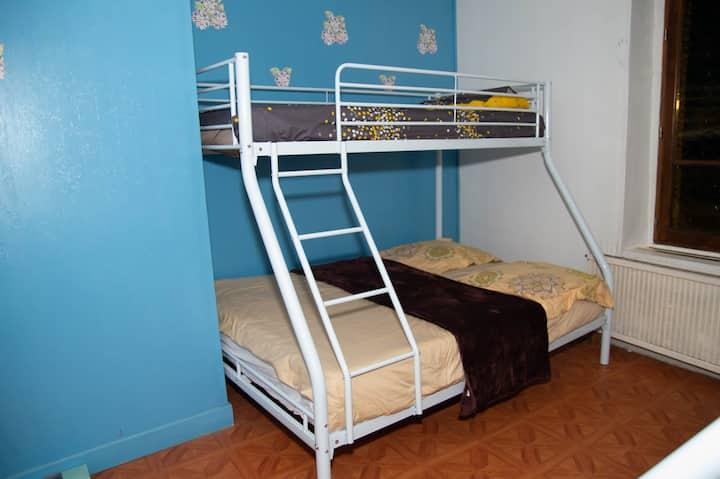 chambre idéal pour une famille ou un groupe
