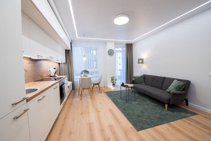 Cozy, stylish, brand new apartment next to Oldtown