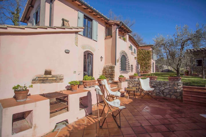 Private luxury villa with pool, near Rome - Stimigliano - Vila